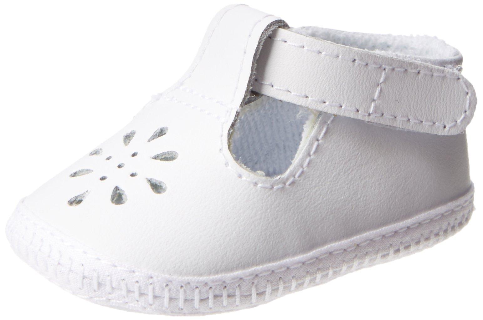 Baby Deer Baby Crib Shoe 1820-K, White, 0(Newborn) by Baby Deer