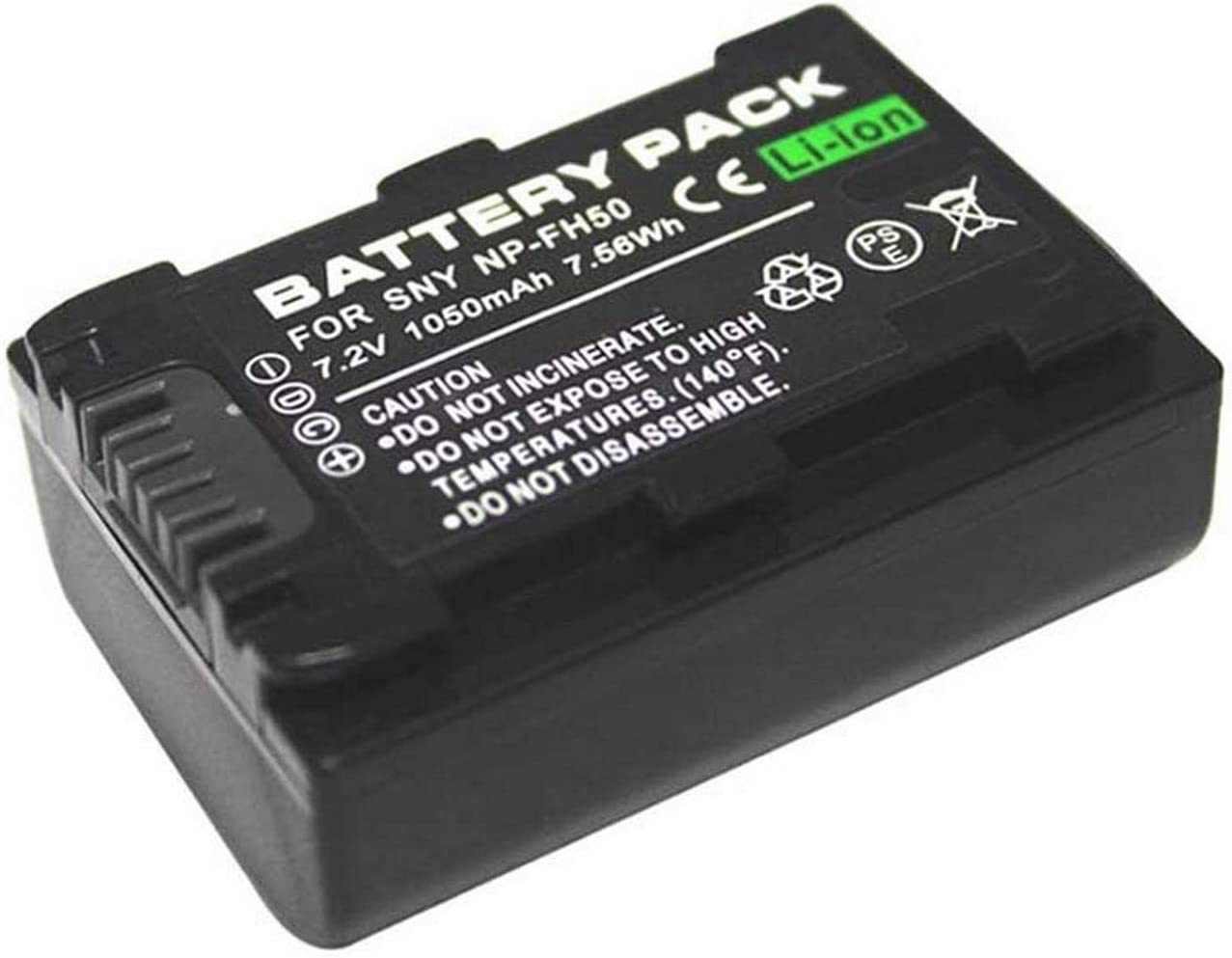 HDR-CX7EK Battery Pack for Sony HDR-CX6E HDR-CX7E HDR-CX11E HDR-CX12E Handycam Camcorder