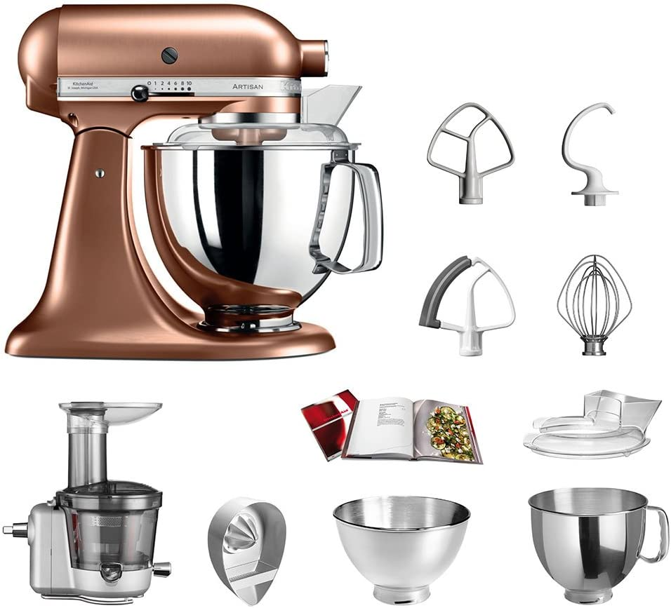 KitchenAid Robot de cocina fop Conjunto   Artisan 5 ksm175ps ...