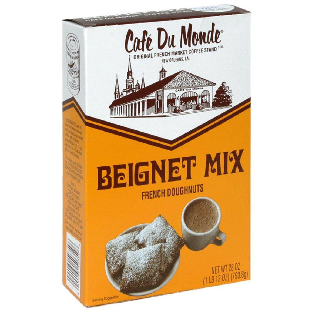 Box Cuisine Du Monde | Amazon Com Cafe Du Monde Beignet Mix 28 Ounce Pack Of 6