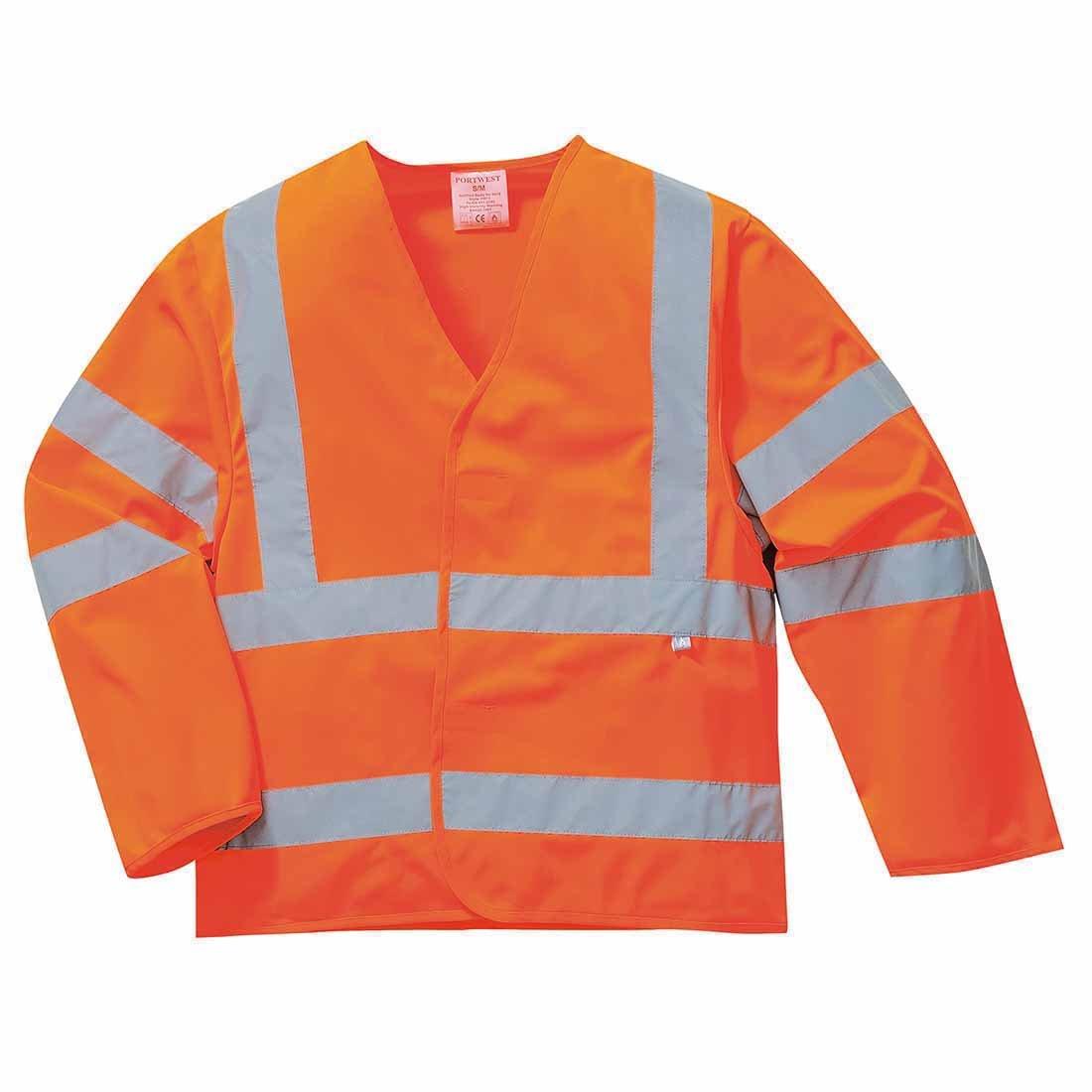 Portwest Workwear Mens Hi-Vis Jacket FR Finish