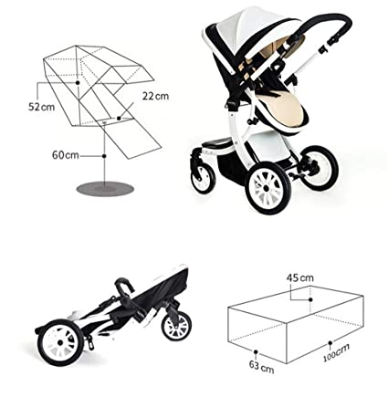 Pushchairbaby Stroller Ultra Light High Landscape Can Be Lying