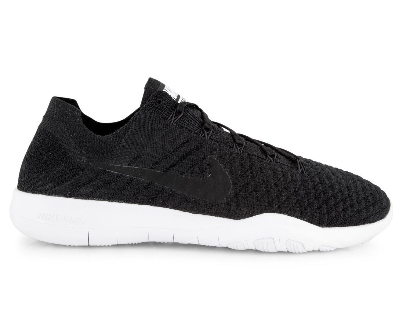 NIKE Free TR Flyknit 2 Womens Running Shoes B0744PKHXQ 8.5 B(M) US|Black/Black-white