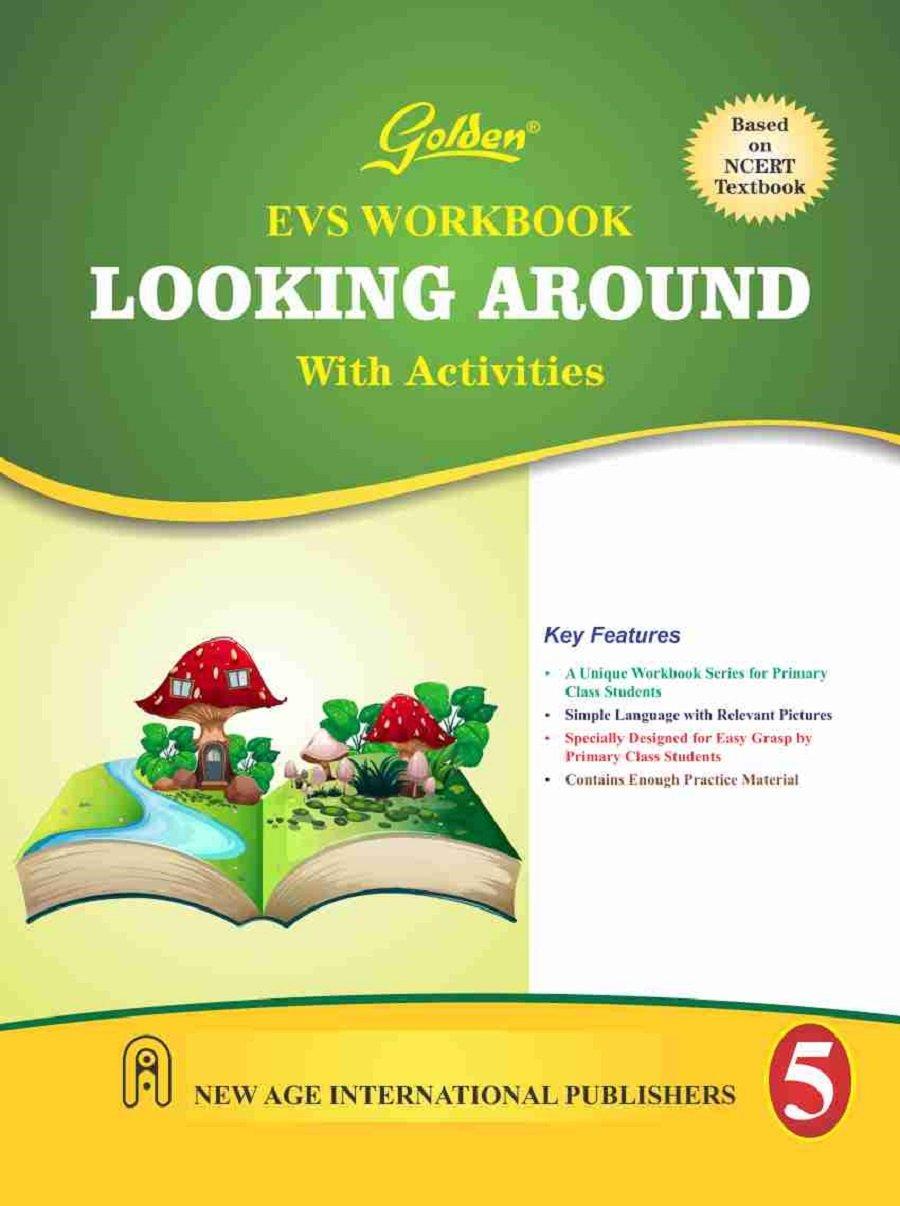 Golden EVS Workbook Looking Around with Activities for Class