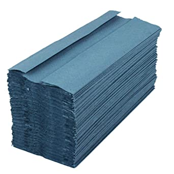 Blue Paper Hand Towels C fold 2520 tissues