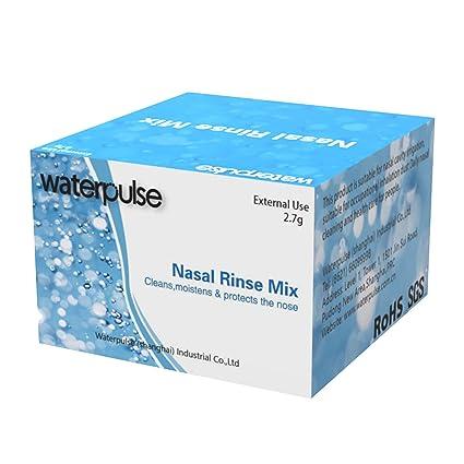 sal nasal Vococal 30 PCS sal de lavado nasal Práctico salino ...
