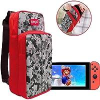 Bolsa Case Mala Nintendo Switch E Lite Maleta Case Bag Viagem com alça cabe tudo