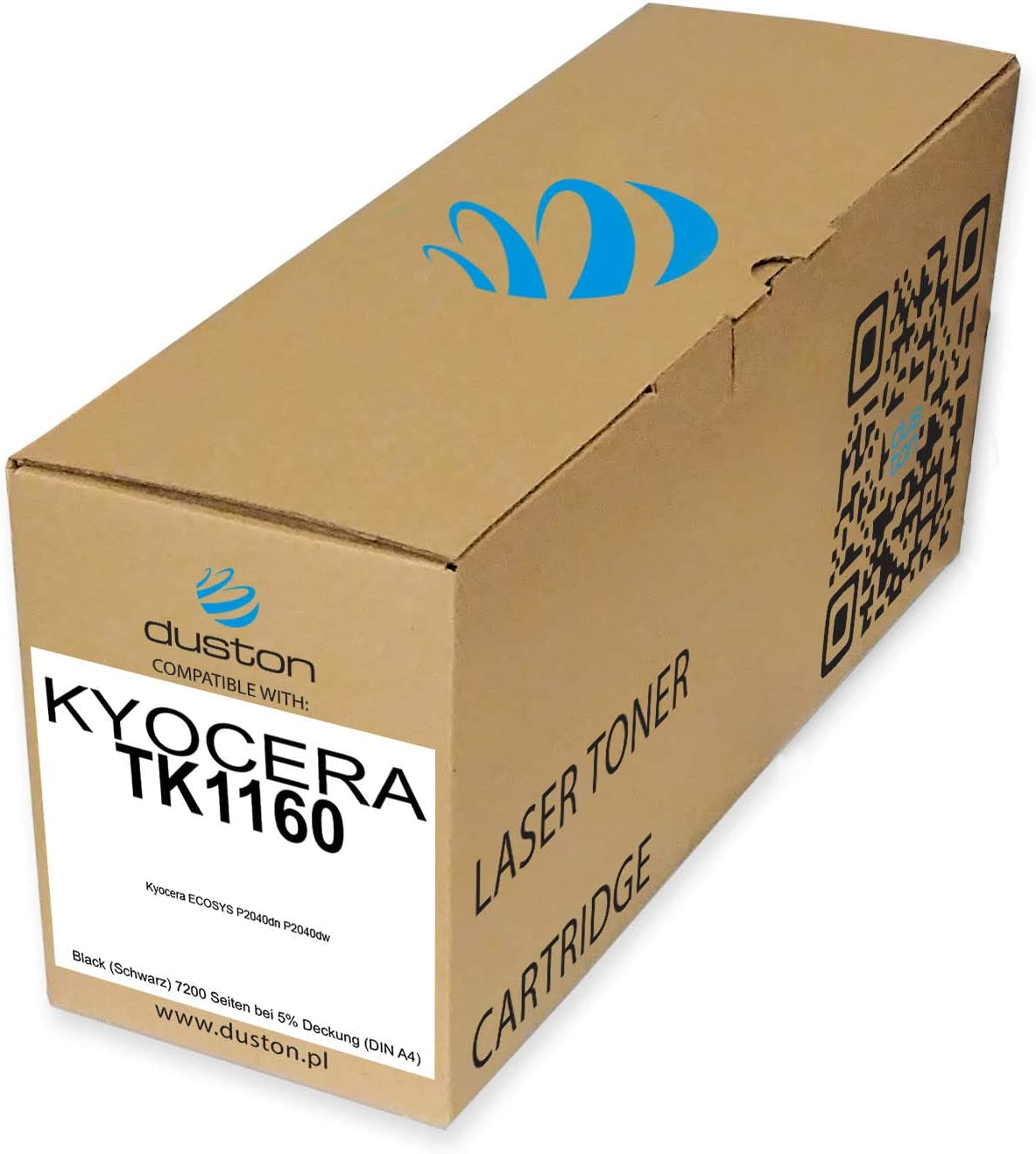 Tk1160 Tk 1160 Schwarz Duston Toner Kompatibel Zu Kyocera Ecosys P2040dn P2040dw Bürobedarf Schreibwaren