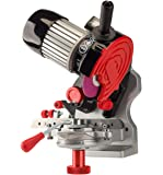 Oregon 410-120 Bench or Wall Mounted Saw Chain Grinder,red
