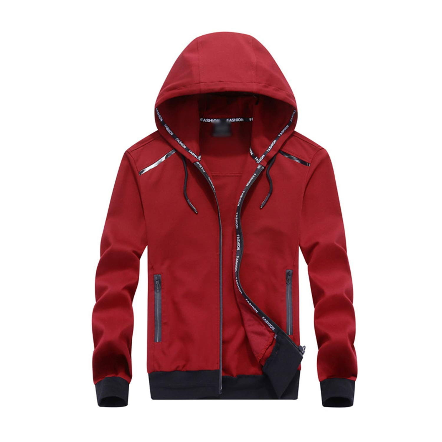 f97573ff Red Mandaartins Spring Autumn Men Hoodies Jacket Cardigan Cardigan Cardigan  Zipper Coats Sweatshirt for Mens Sportwear Tracksuit b09c90
