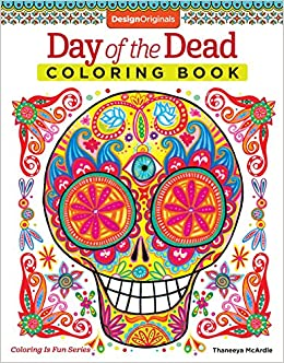 Amazon.com: Day of the Dead Coloring Book (Coloring is Fun) (Design ...