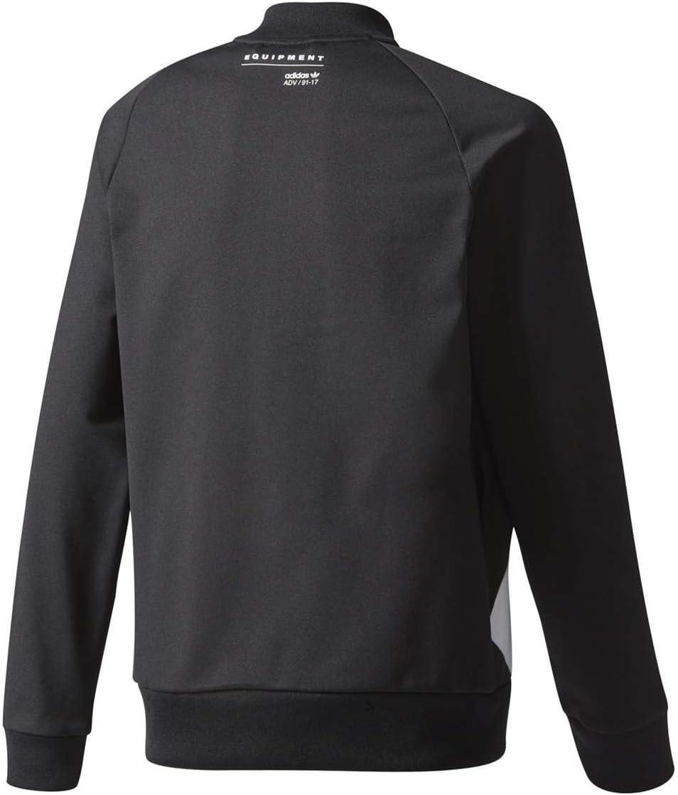 adidas Track Top – J EQT schwarzweiß Größe: 171 176 cm groß