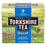 Yorkshire Tea Decaf, 80 Tea Bags