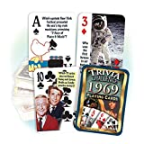 Best Playing Cards In The Worlds - Flickback Media, Inc. 1969 Trivia Playing Cards: 49th Review