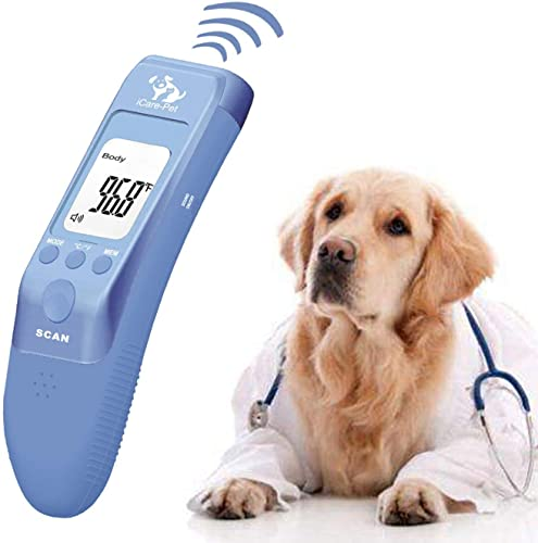 Pet Clinic Thermometer for Dog, Cat, Rabbit and All Pets, Measure in 1s, C/F Switchable