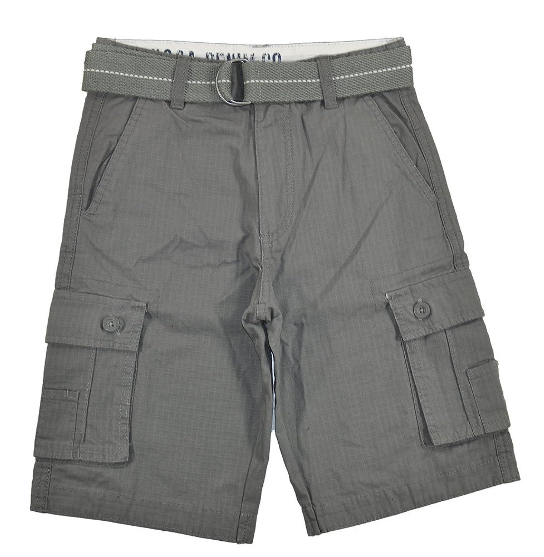4b9f8652f581f Top5: US Polo Assn Big Boys Six Pocket Cargo Short W/Belt