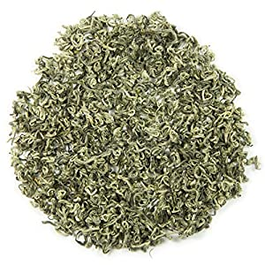 Bi Luo Chun Spring Snail Loose Leaf Chinese Tea - Hong Kong Tea Company Sourced Premium AAA Grade Ultra-Fine White/Green Tea - 1.5oz