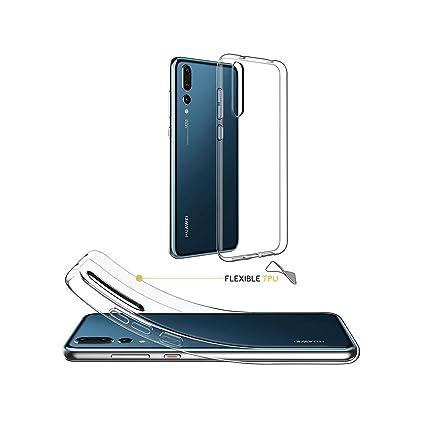 Amazon.com: Transparent Phone Case for Huawei P30 Pro P20 ...