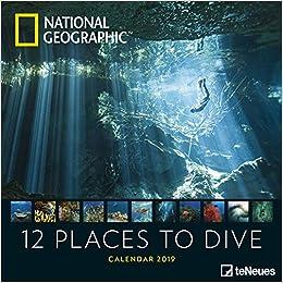 2019 Nat Geog 12 Place Dive 30x Grid Cal por None epub