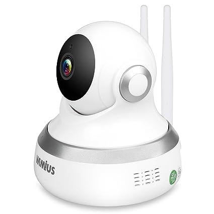 WIMIUS 1080P IP cámara WiFi camaras de Vigilancia inalámbrico, Detección de movimiento,Visión Nocturna, Audio bidireccional, Grabación de Micro ...