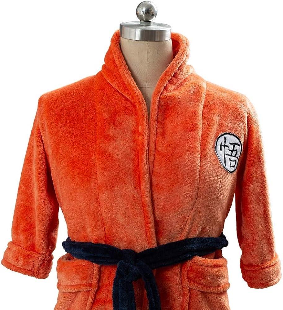Dragon Ball Z Bathrobe Cosplay Son Goku Costume Bath Robe for Adult /& Kids Unisex Dragon Ball Z Sleepwear Nightwear Pajamas