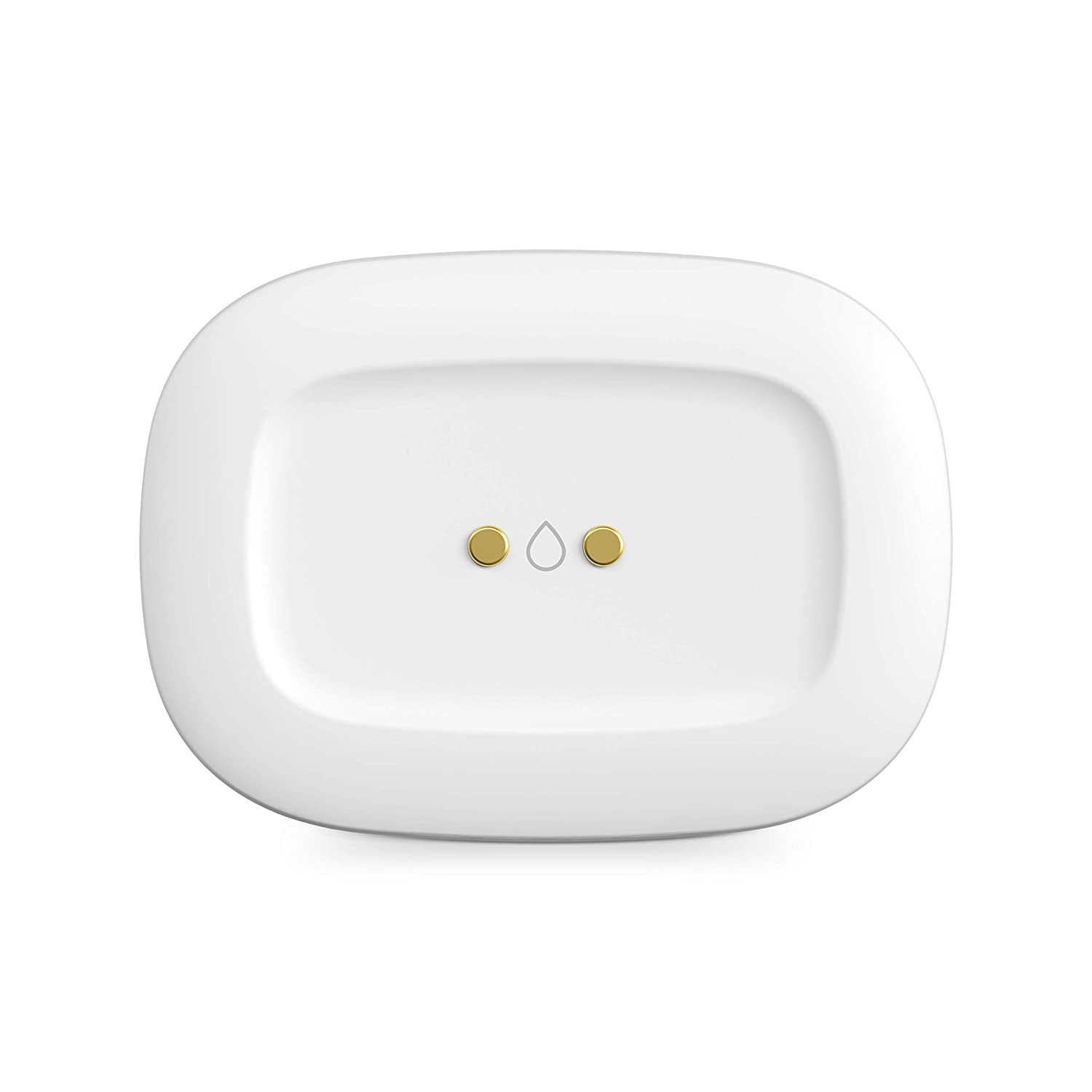 Samsung GP-U999SJVLCAA Smart Things Water Leak Sensor - Automate Lights & Siren For Alert – ZigBee | Accessory to Smart Things Hub White