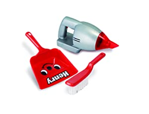CASDON Henry Hand Held Vacuum Playset, Grey/Red
