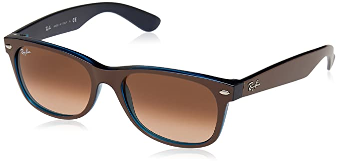 Rayban 0RB2132 6310A5 52, Montures de Lunettes Mixte Adulte, Marron (Matte  Chocolate on a51f0bbc3bda