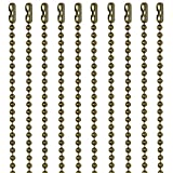 30 Inch Antique Brown Finish Number 3 Ball Chain