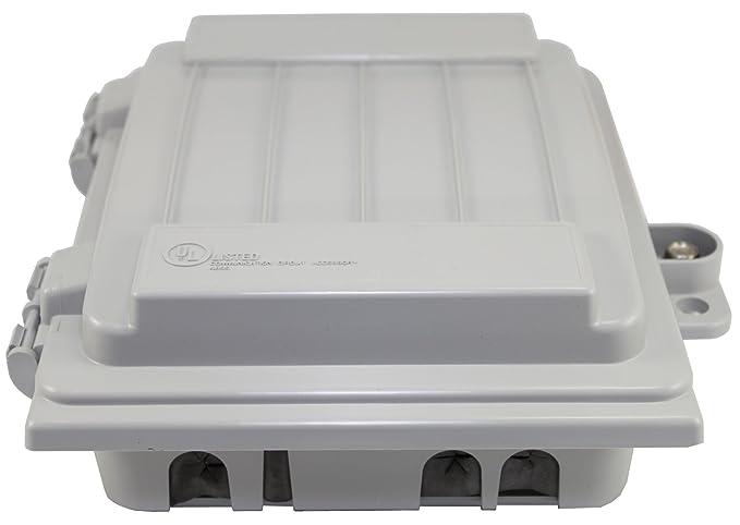 CableGuard CG-500 Keptel Coax Telco Internet Cable Outdoor Demarcation Enclosure
