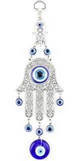 Brave Blue Evil Eye Amulet Protection Turkish Wall Hanging Blessing Lucky Home Decor Wind Chimes & Hanging Decorations
