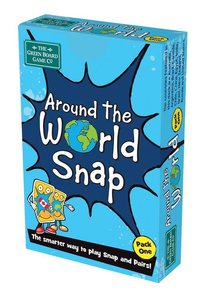 Green Board Games La Vuelta al Mundo Pack 1 Snap versi/ón en ingl/és