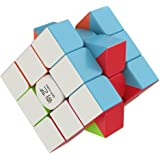 Speed Cube - the Amazing Smart Cube [IQ Tester] 3x3 - Anti Stress for Anti-anxiety Adults Kids - Best Rubix Puzzle Toy [Better than Rubiks Cube] Turns Quicker and More Precisely Than Original