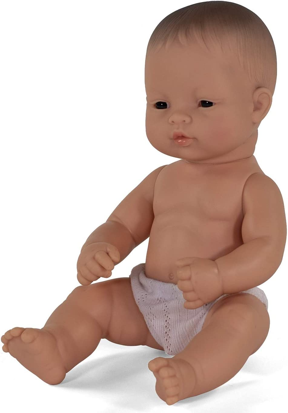 Baby Doll Caucasian BOY with Down Syndrome 15 Miniland Polybag