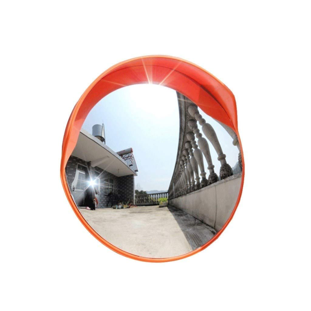 Geng カーブミラー 凹面鏡外部駐車場交差点ブラインドミラーセキュリティ凸面鏡調整可能なPCデッドアングルミラー、ショッピングモール、ガレージ、通り、病院60cm   B07T8J1CXY