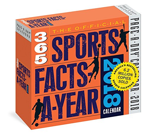Sports Facts-A-Year Page-A-Day Calendar 2018 [6.25 x 6.25] ()
