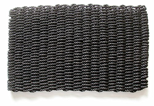 Geo Crafts PP Mariner Doormat, 18 x 30-Inch, Black