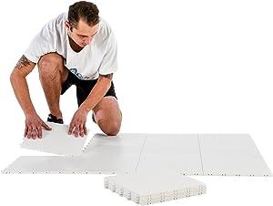 Hockey Revolution Dryland Flooring Tiles - My Puzzle System 8 (9.4 Sq. Ft)