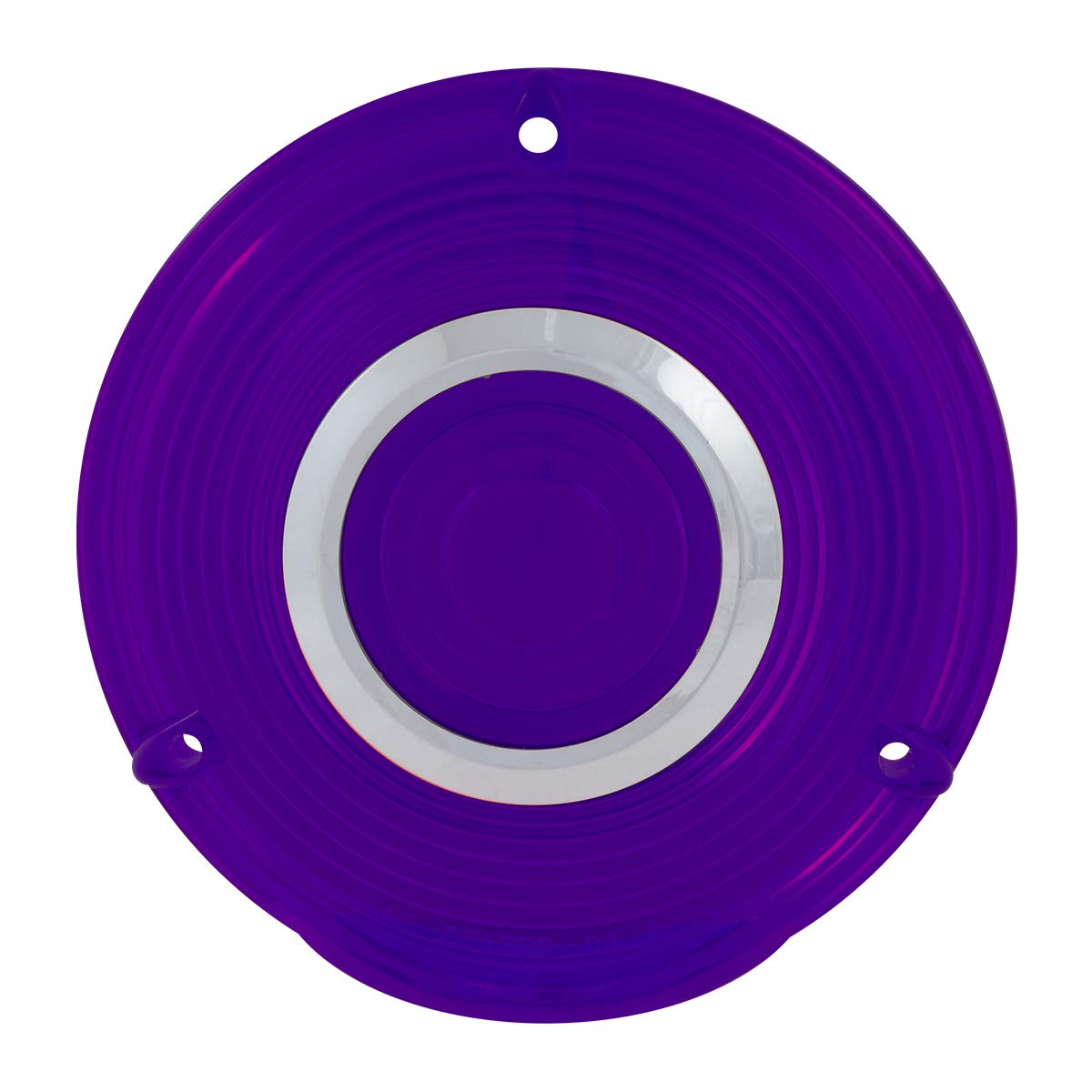 GG Grand General 86723 Lens Kit 4 3 Screw Purple Plastic with Clear Rim