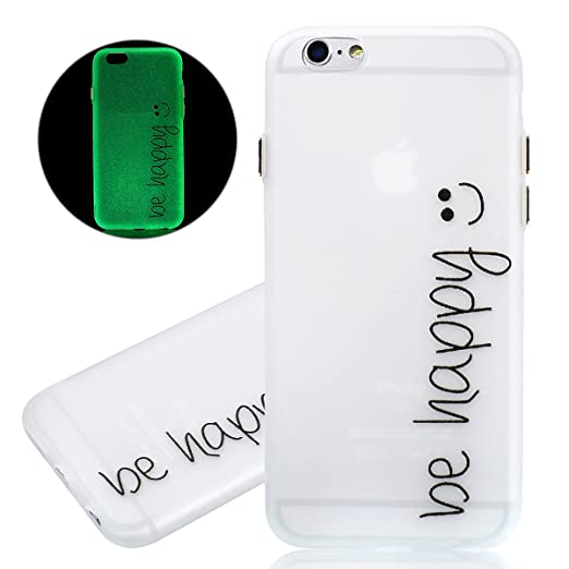 8 opinioni per ISAKEN Custodia iPhone 6- Cover iPhone 6S- Fashion Agganciabile Luminosa Cover
