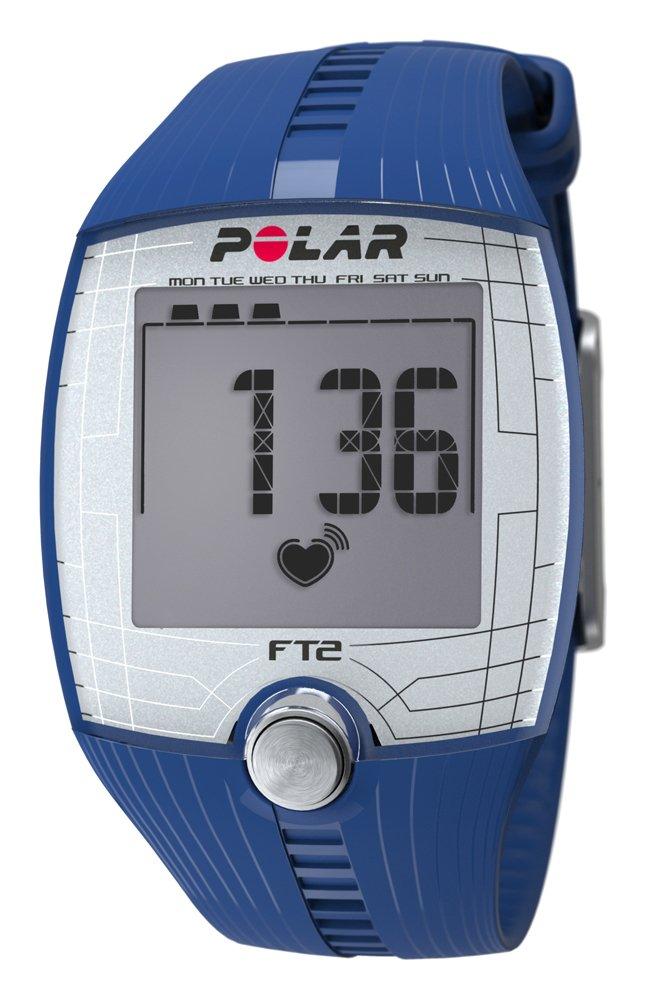 Polar FT2 - Reloj con pulsómetro y Pantalla Grande de fácil Lectura para Inicio en Fitness