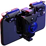 PUBG Mobile Controller, 16 Shots per Second Auto High Frequency Click Mobile Gaming Controllers for PUBG/Fortnite/Rules of Su