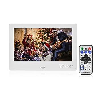 Amazoncom 7 Inches Digital Picture Frameandoer Led Digital Photo