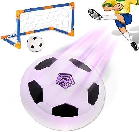 Pelota suspendida de fútbol Hover para niños con luces LED ...