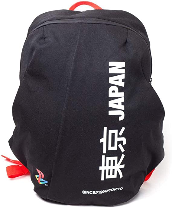 Playstation Japan Since 1994 Tokyo Seamless Functional Backpack Mochila Tipo Casual 41 Centimeters 20 Negro (Black)