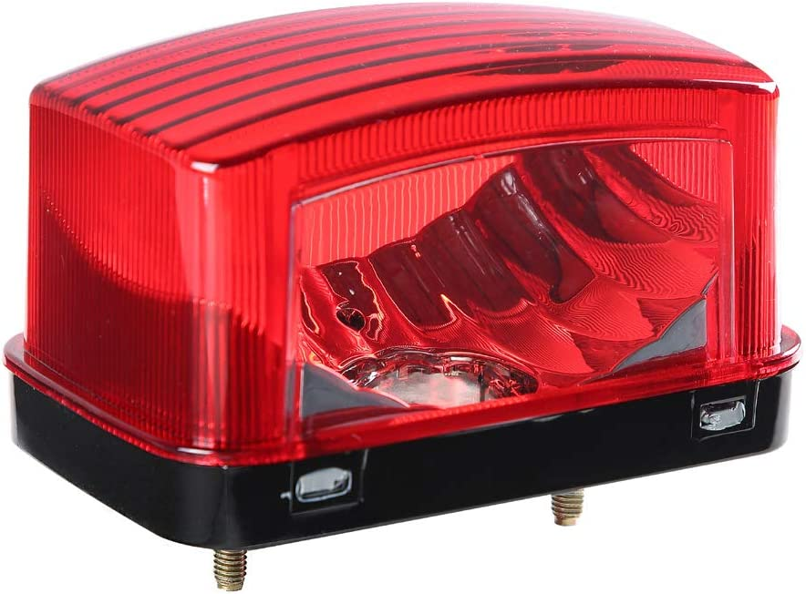 Red Lens Cover Housing Shell of Tail light for Yamaha Grizzly Big Bear 250 400
