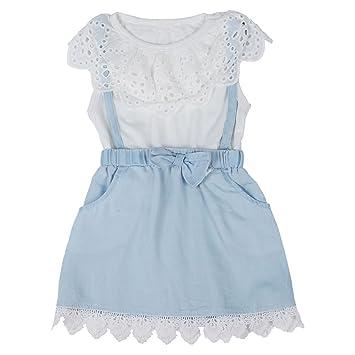 Vestidos de Tul - SODIAL(R) vestido de princesa de lazo de tul de