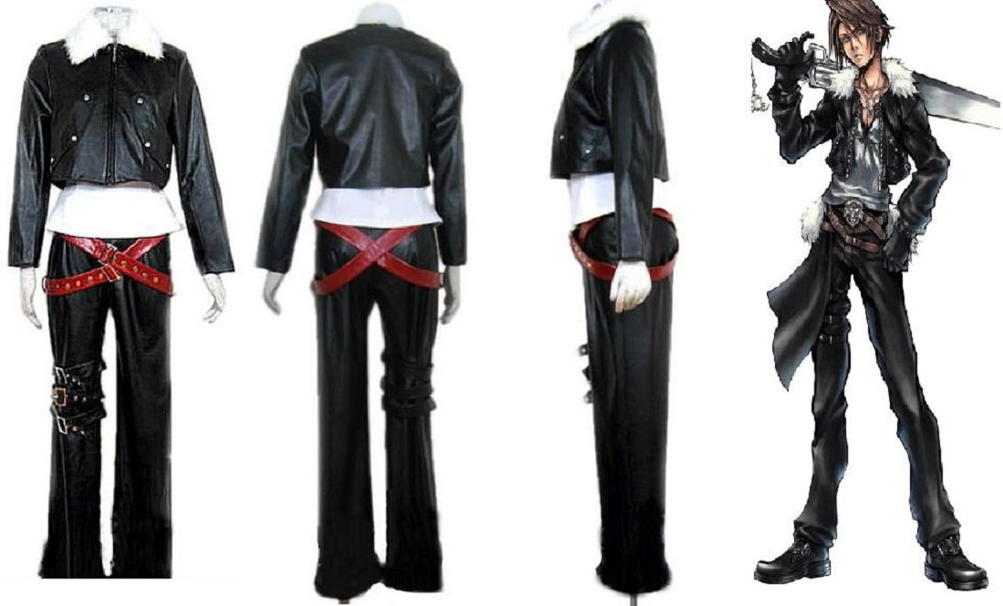 amazoncom final fantasy viii 8 squall lionheart cosplay costume toys games