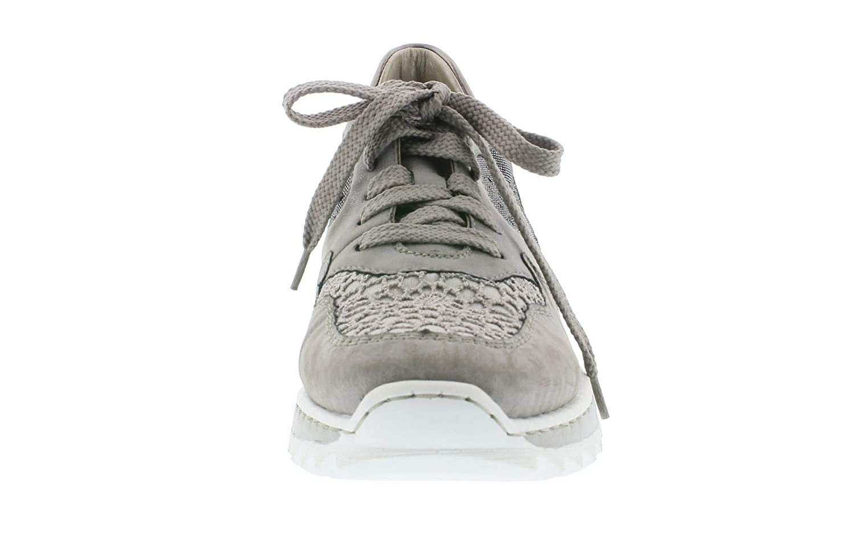 Rieker Damen Sneaker grau M6902 42 Damenschuhe