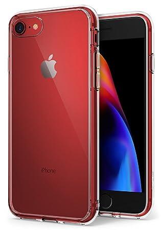 77653eeb0a7 Ringke Fusion, Funda Apple iPhone 7 / iPhone 8, Tecnología de Absorción,  Criado Biseles de la Protectora - Transparente (Clear): Amazon.es:  Informática